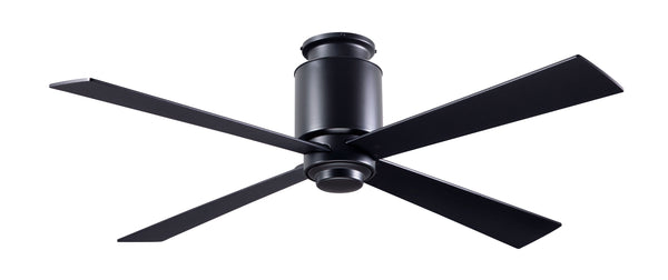 Lapa Flush Ceiling Fan - Dark Bronze