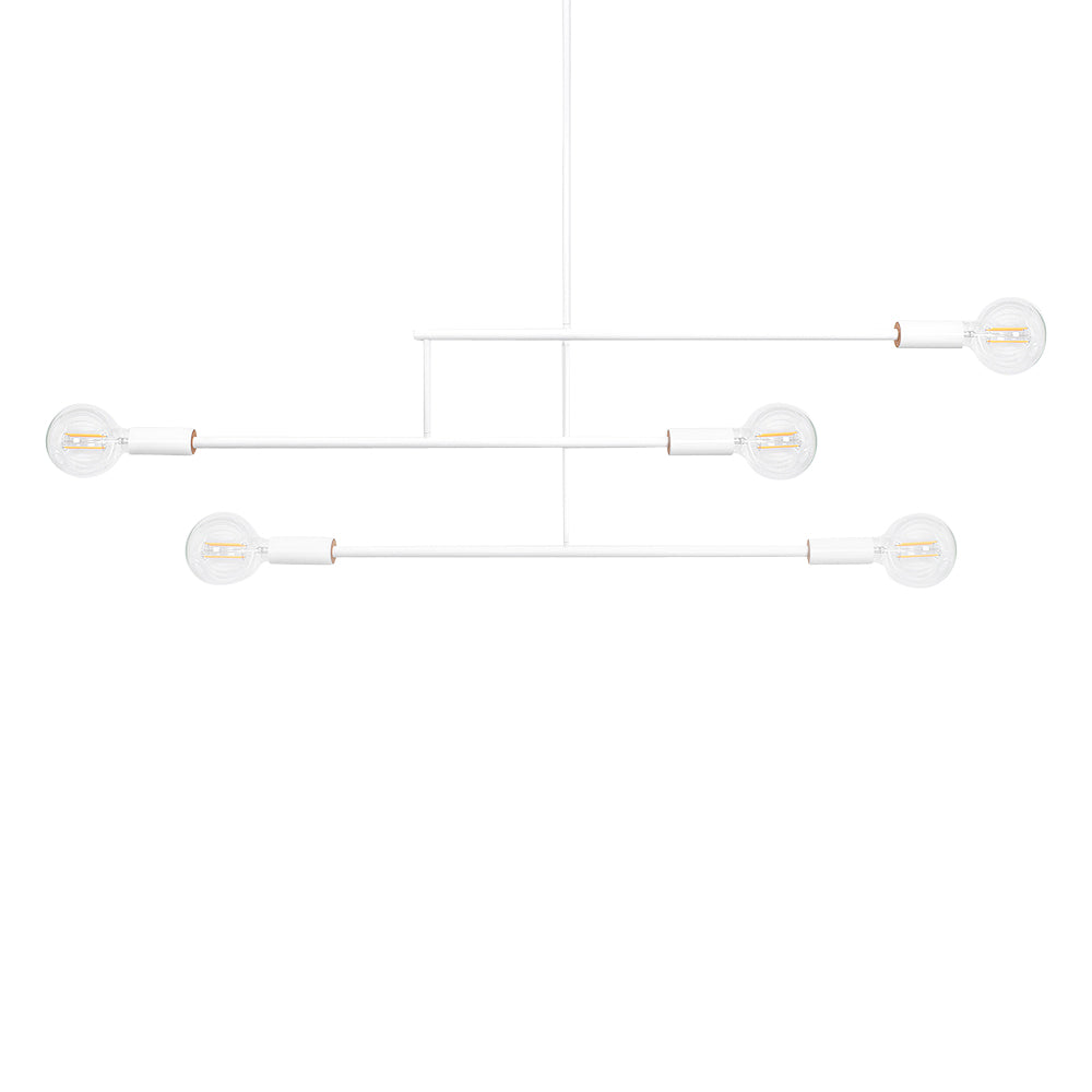 Andrew Neyer Mobile Light 3 Arm 12 White
