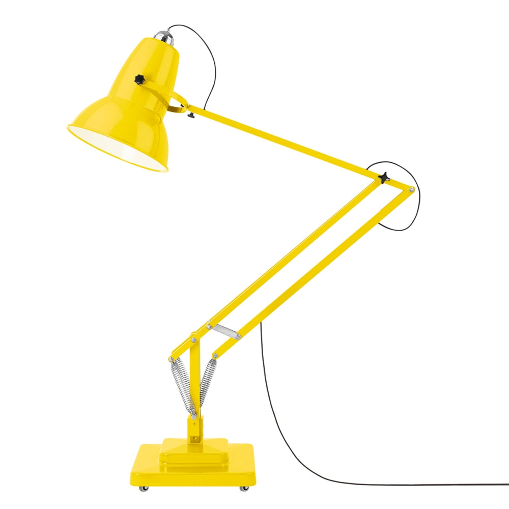 Anglepoise Original 1227 Giant Outdoor Floor Lamp Citrus Yellow