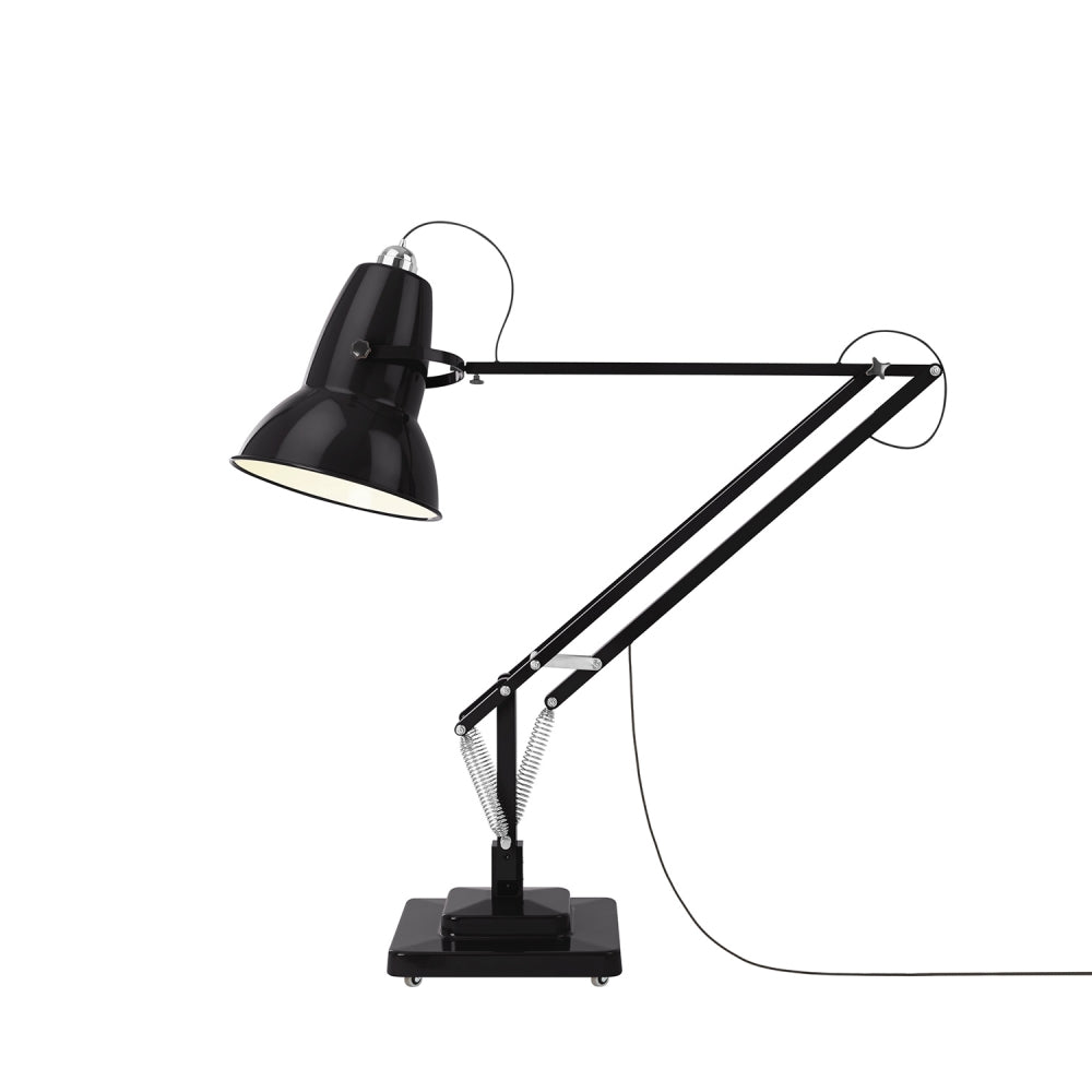 Anglepoise Original 1227 Giant Floor Lamp Jet Black Gloss