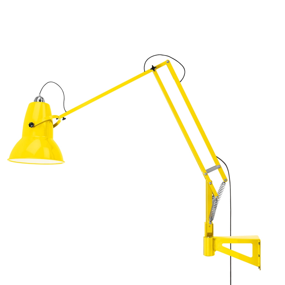 Anglepoise Original 1227 Giant Wall Mounted Lamp Citrus Yellow
