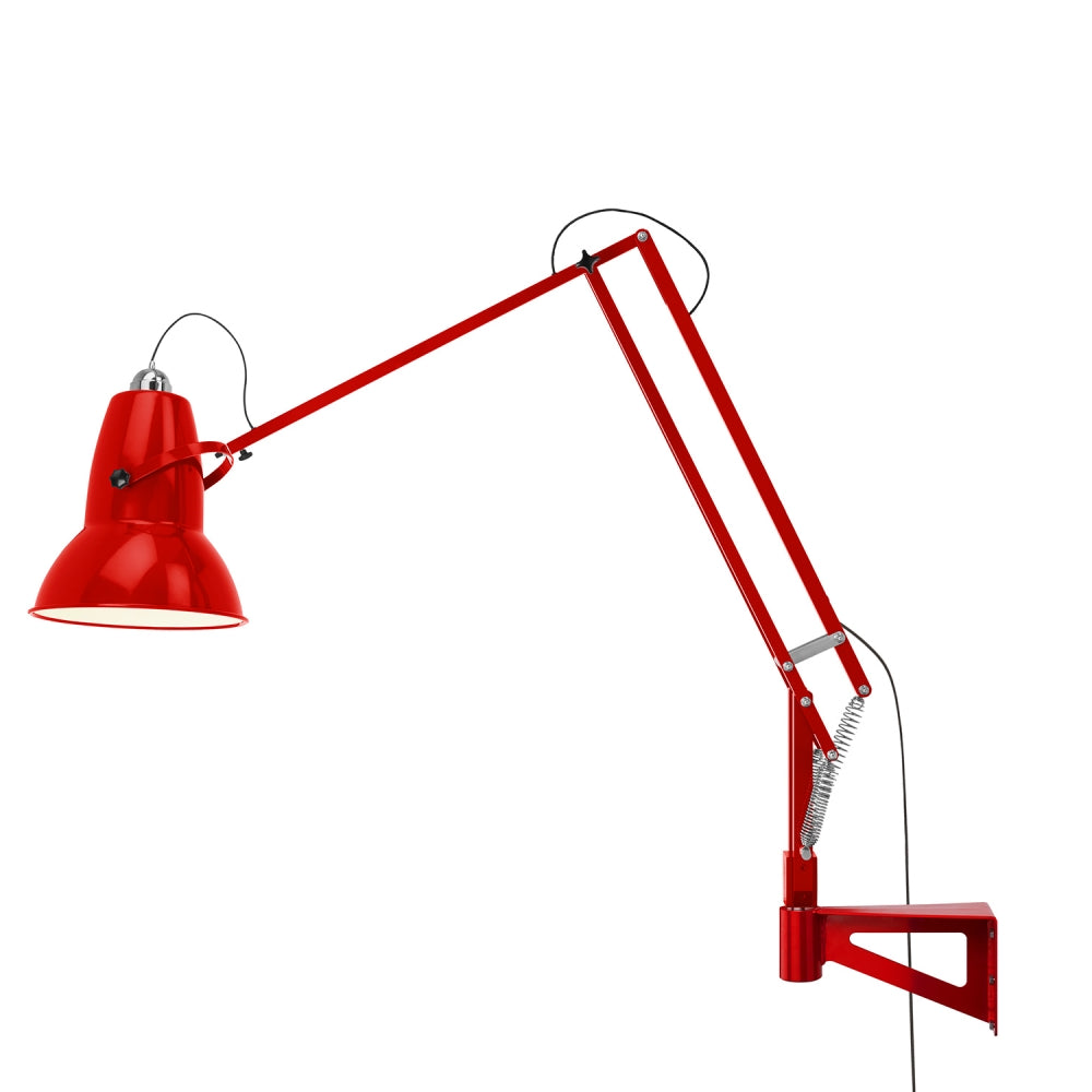 Anglepoise Original 1227 Giant Wall Mounted Lamp Crimson Red