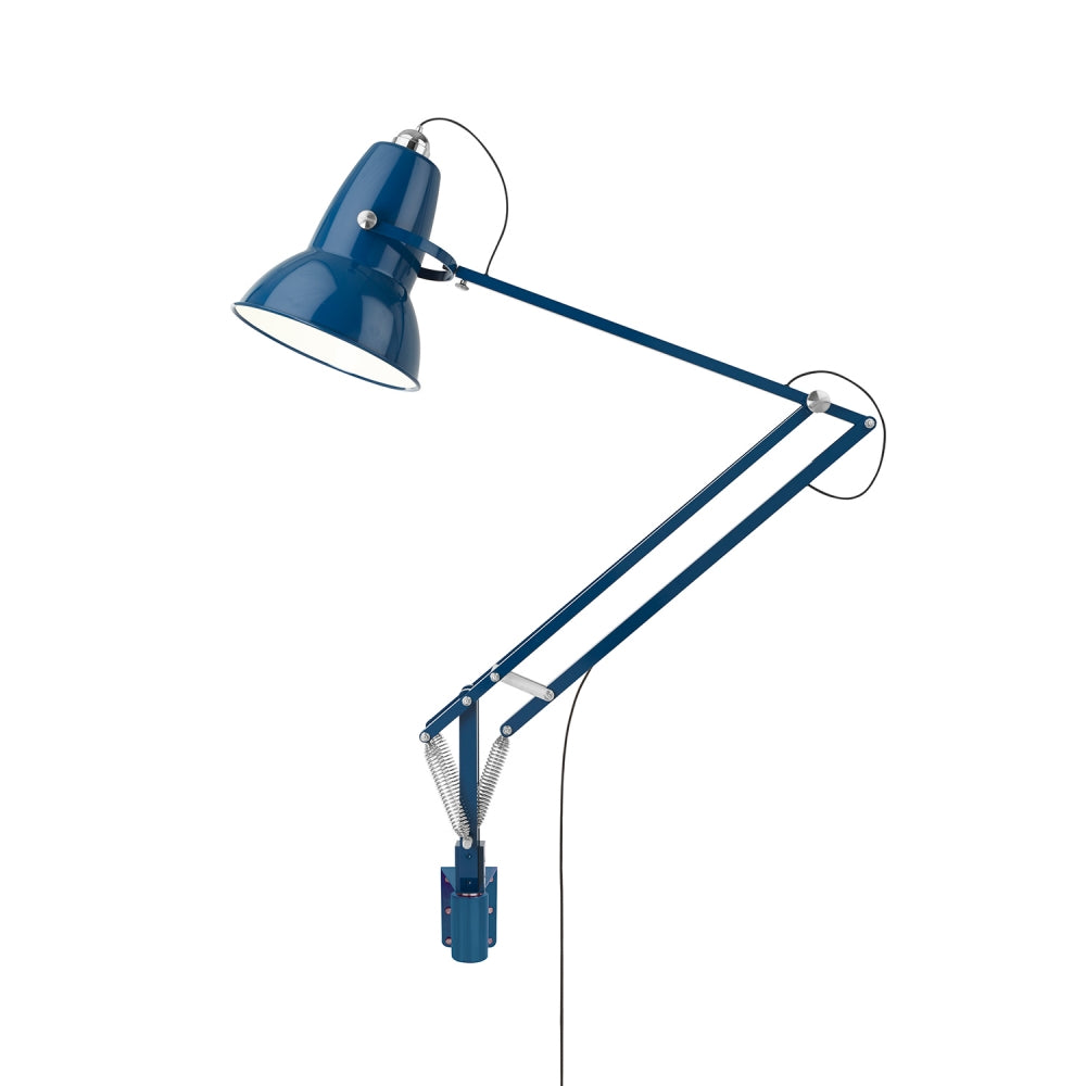Anglepoise Original 1227 Giant Outdoor Wall Mounted Lamp Marine Blue