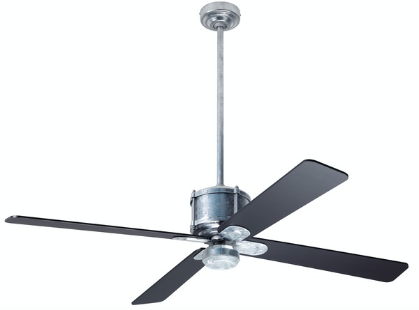 Industry DC Ceiling Fan - Galvanized