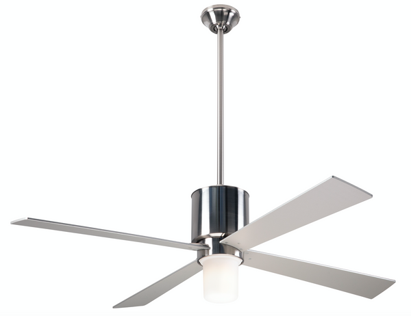 Lapa Fan With LED Light - Nickel