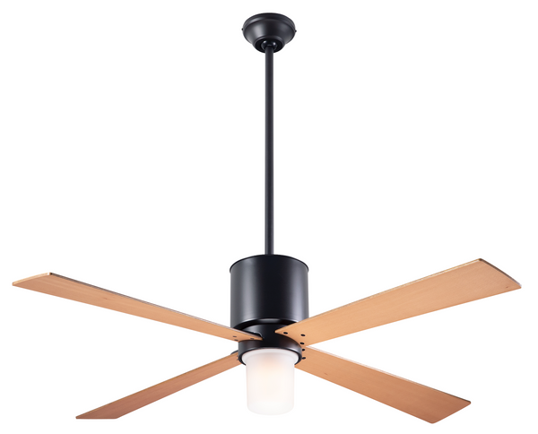 Lapa Fan With LED Light - Dark Bronze