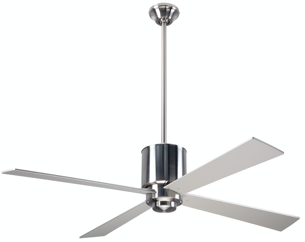 Lapa Ceiling Fan - Nickel
