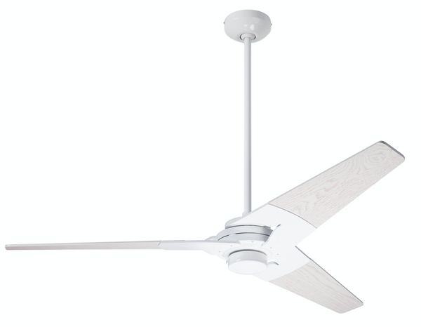 Torsion Ceiling Fan - Gloss White