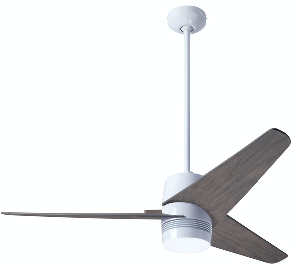 Velo DC Ceiling Fan - Gloss White