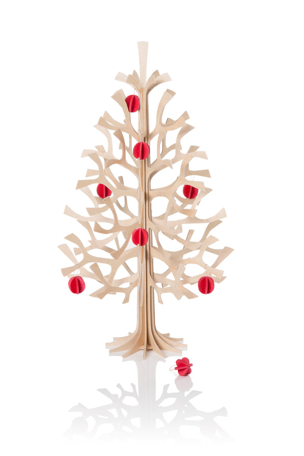 Lovi Birch Wood Christmas Tree