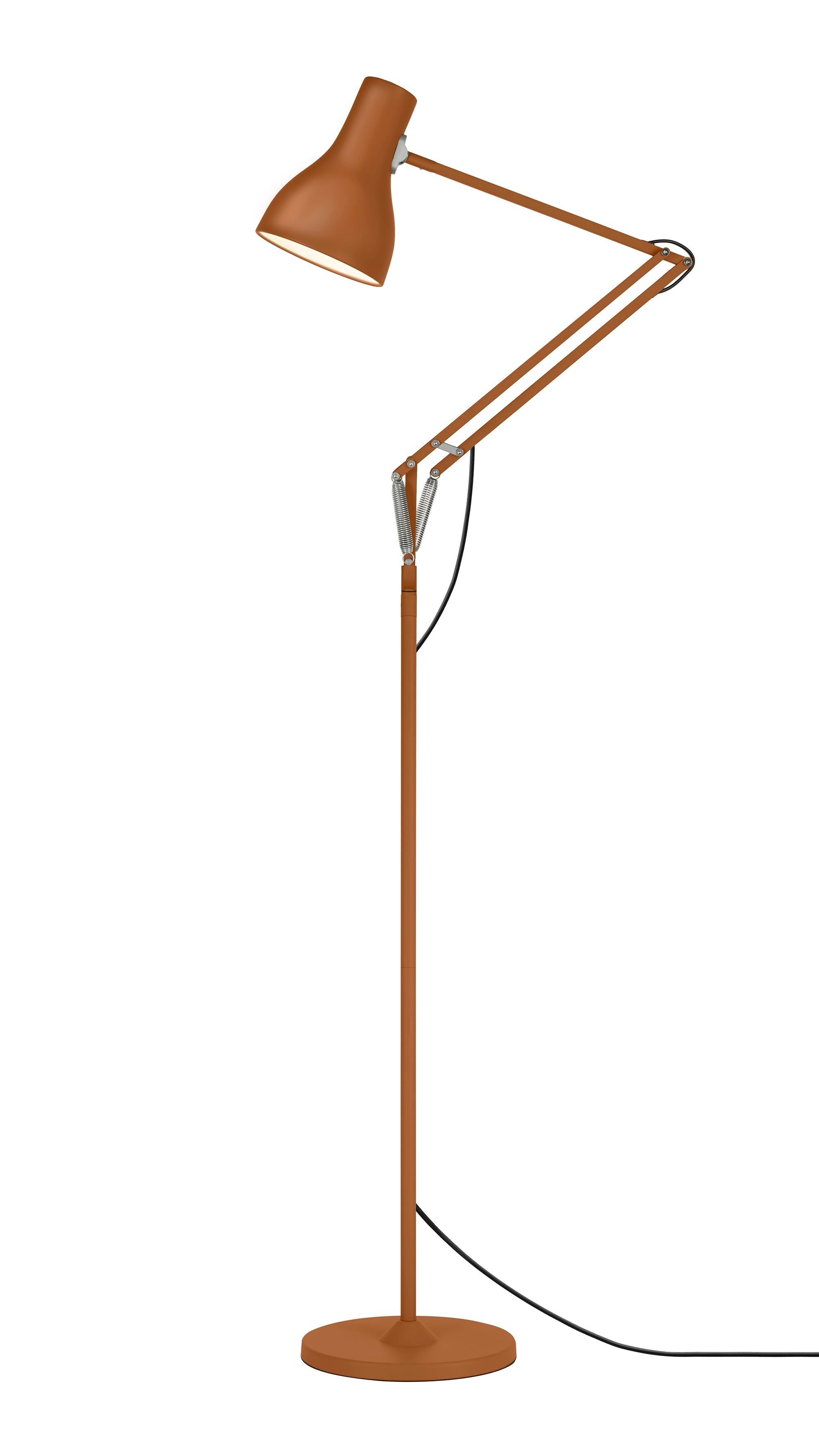 Anglepoise Type 75 Floor Lamp Margaret Howell Edition Sienna