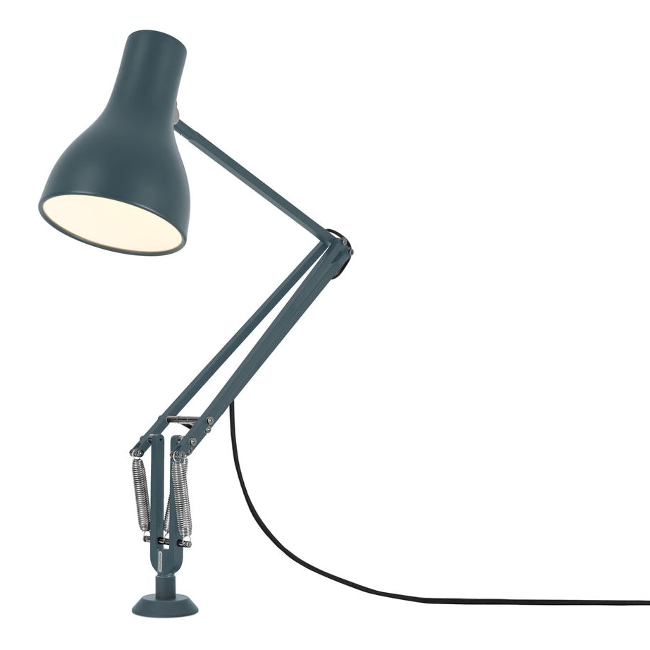Anglepoise Type 75 Desk Lamp Insert Base Slate Grey
