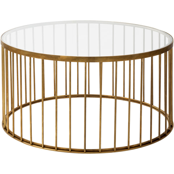 Brass Cafe Coffee Table