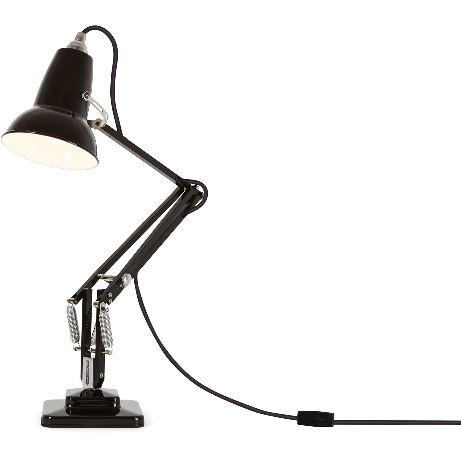 Anglepoise Original 1227 Mini Desk Lamp Jet Black