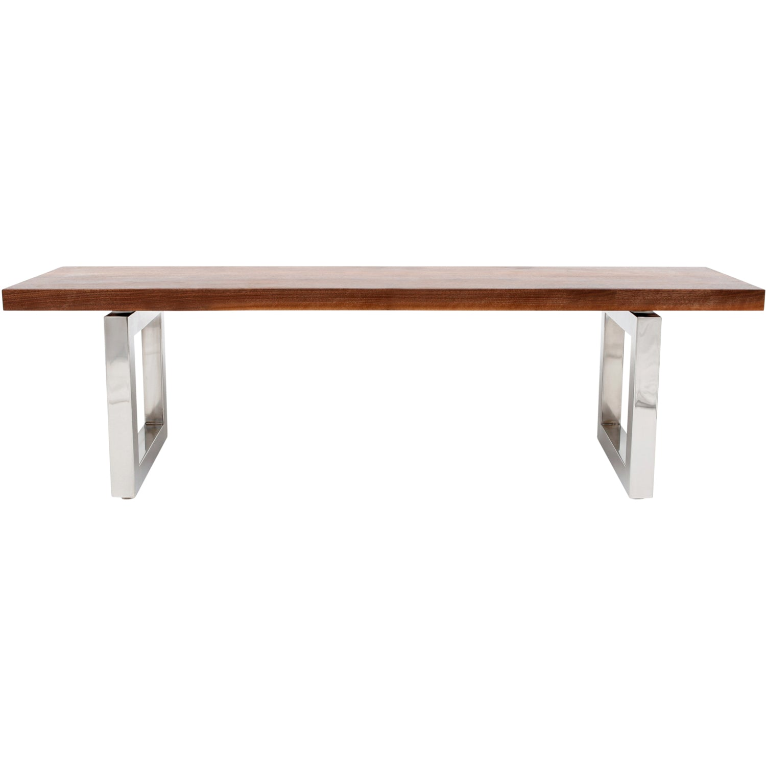 Artless GAX 16 Wood Bench GAX 96W X 16D X 18H Polished Copper