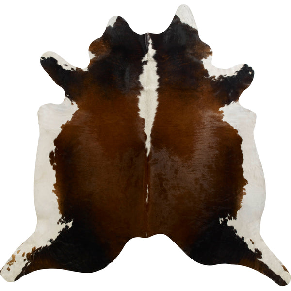 Cowhide Rug - Black/Brown/White Regular