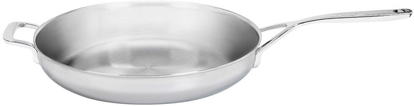"Demeyere 5-Plus Stainless Steel 12.5"" Fry Pan with Handle"