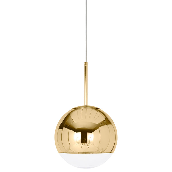 Mirror Ball Pendant 25 - Gold