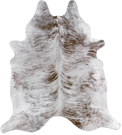 Cowhide Rug - Light Brindle Tan