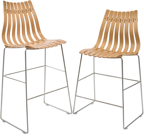 Scandia Bar Stool   Set Of Two