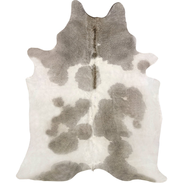 Cowhide Rug - Grey Gris White Special