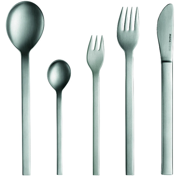 Mono-a - Stainless Steel 5-Piece Set