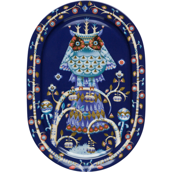 Taika Serving Platter - Blue