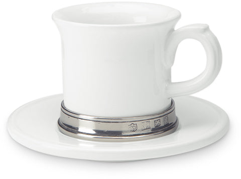 Convivio Espresso Cup with Saucer - Set of 2
