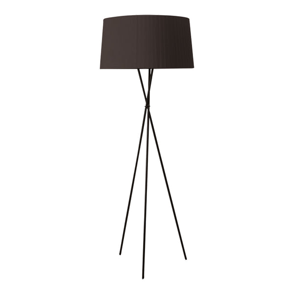 Tripod G5 Floor Lamp - BlackSanta & Cole