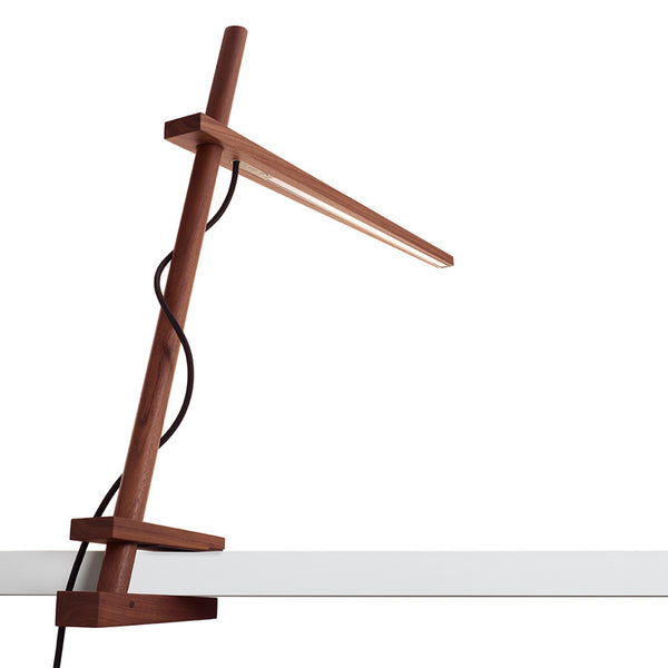 Pablo Clamp Table + Task Lamp