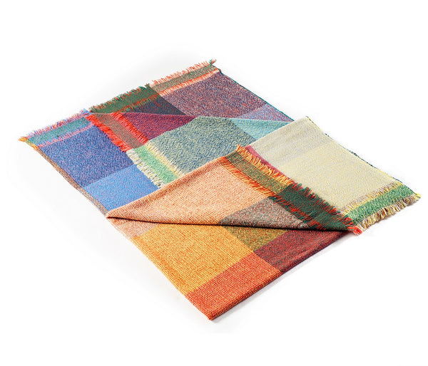 Integrate Hand Woven Throw - Squares