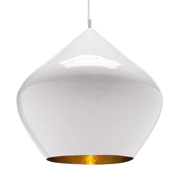 Beat Light Stout Pendant - White