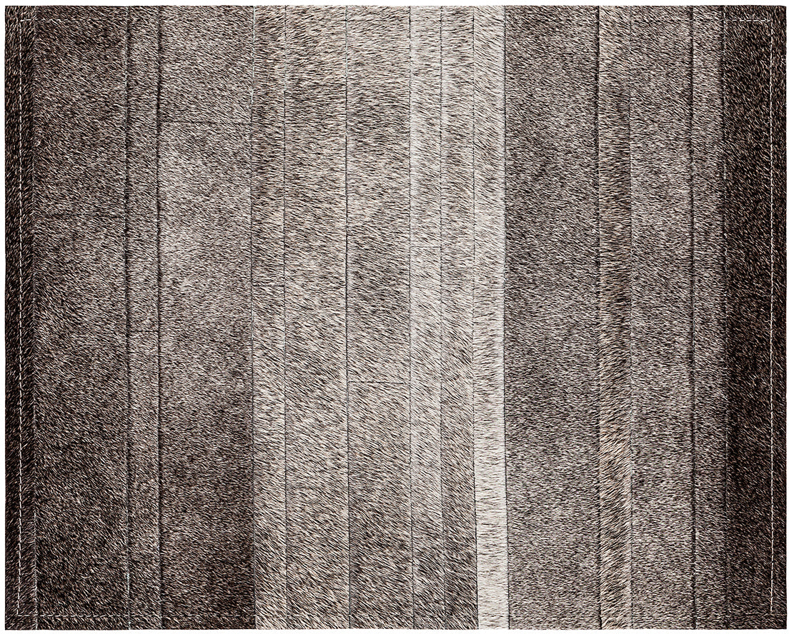 Fitzgerald Cowhide Rug - Grey - 6 x 9 Product Image