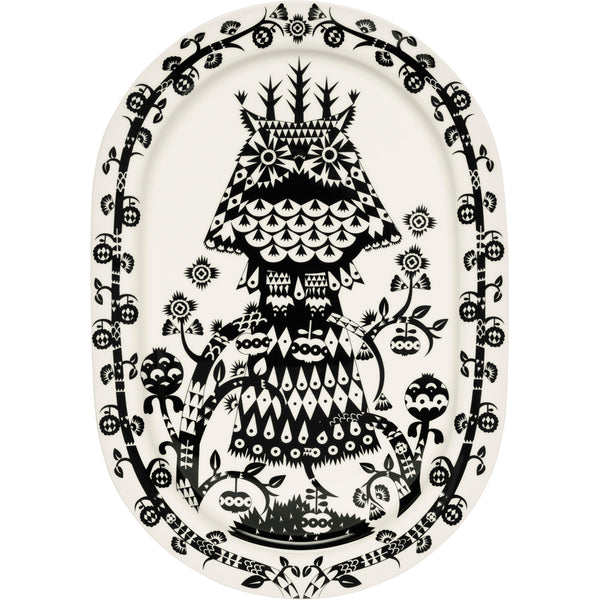 Taika Serving Platter - Black