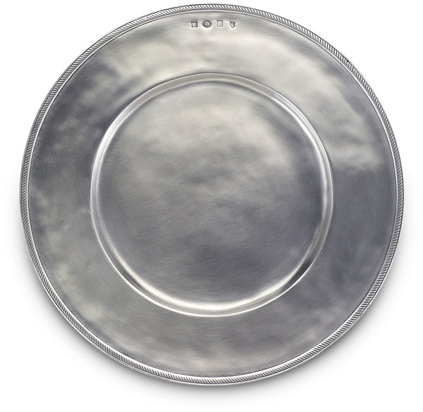 Luisa Charger - Solid Pewter