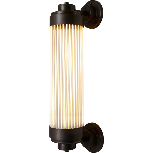 Pillar Offset Wall Light
