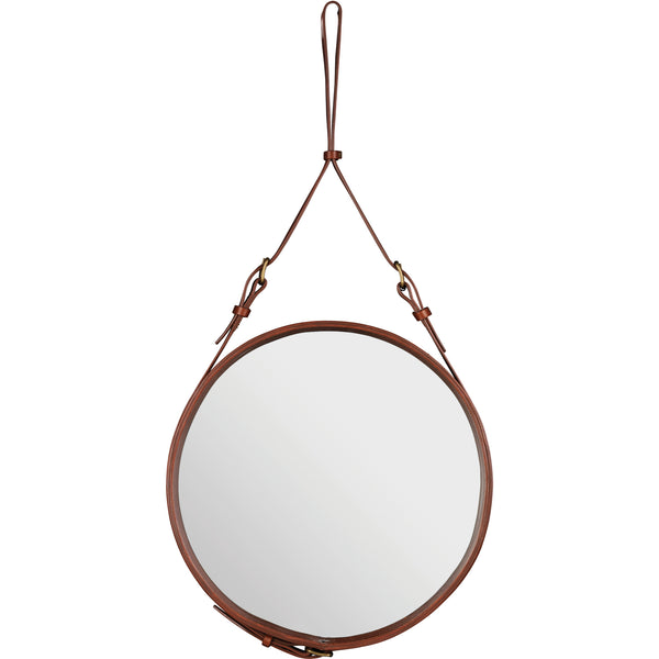 Adnet Mirror 45 - Tan