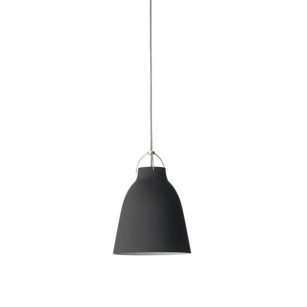 Caravaggio Matte Black Pendant - Medium P2