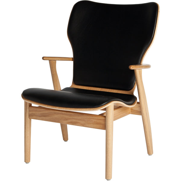 Domus Lounge Chair - Oak/Leather