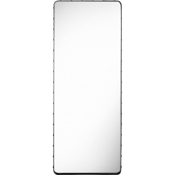 Adnet Rectangular Mirror 70x180 - Black