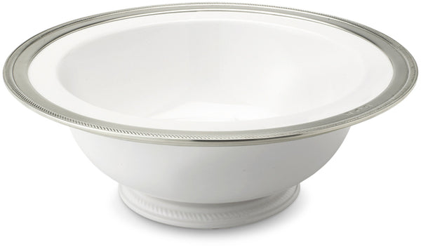 Luisa Round Footed Serving Bowl