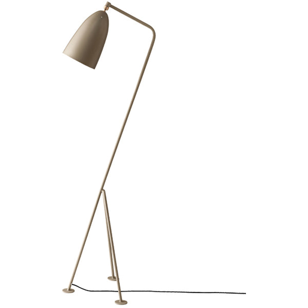 Grässhoppa Floor Lamp Warm GrayGreta Grossman for Gubi