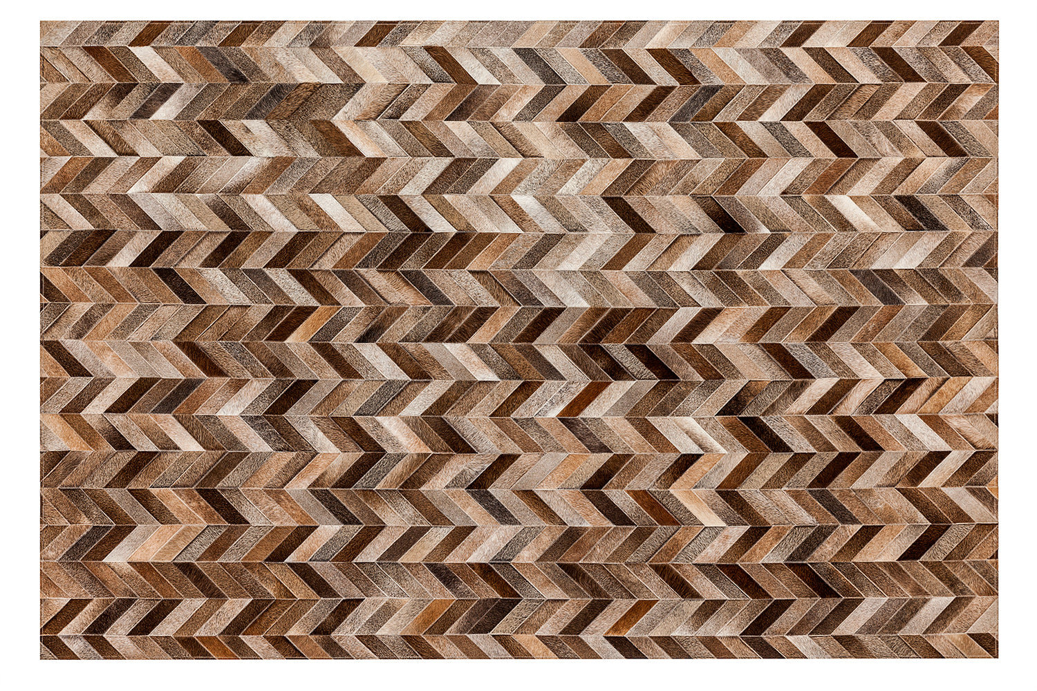 Franklin Cowhide Rug - Tan - 8 x 10 Product Image