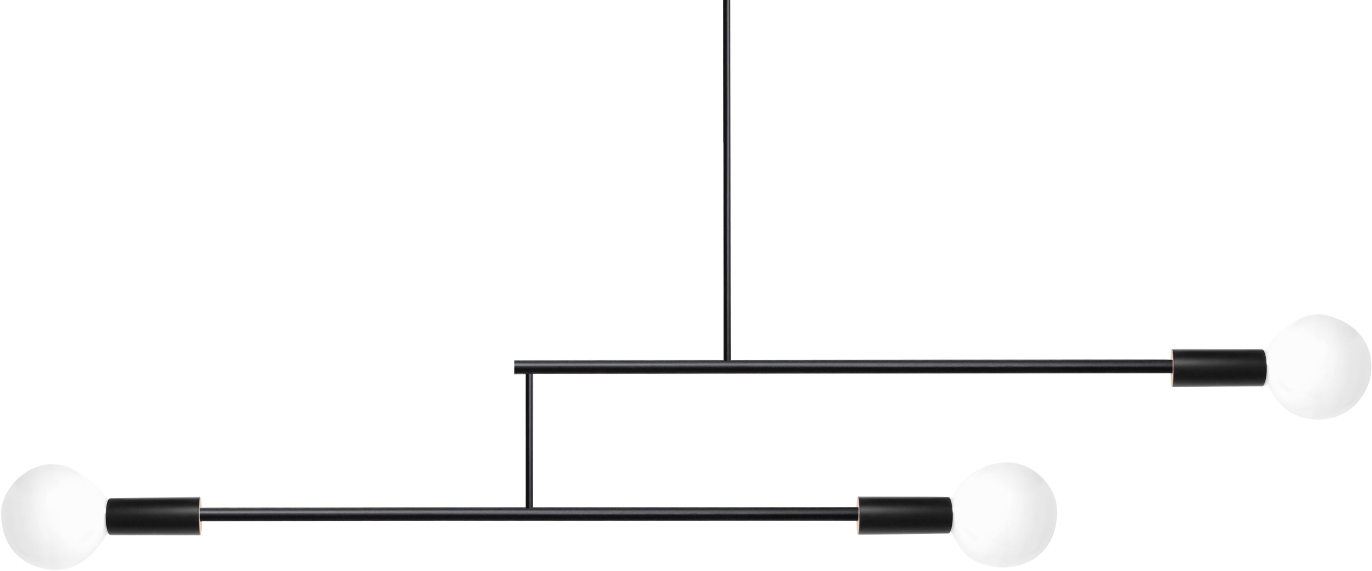 Andrew Neyer Mobile Light 2 Arm 12 Black