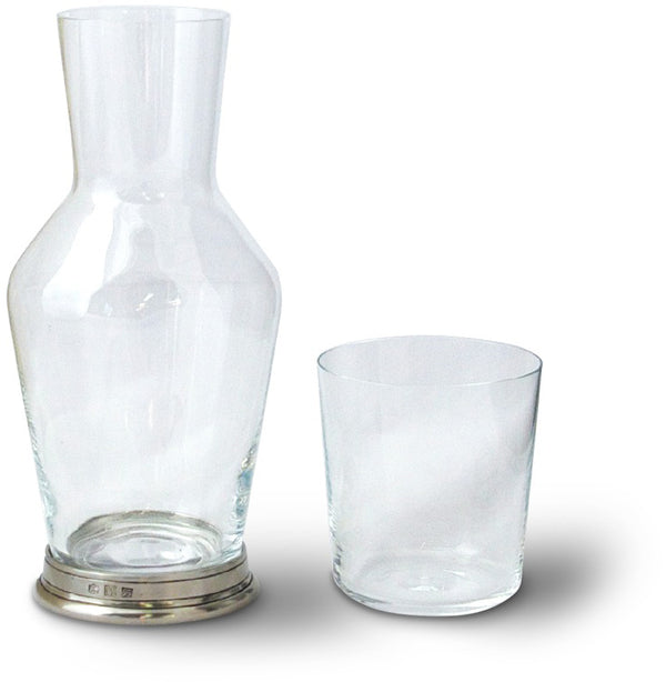 Bedside Carafe and Tumbler