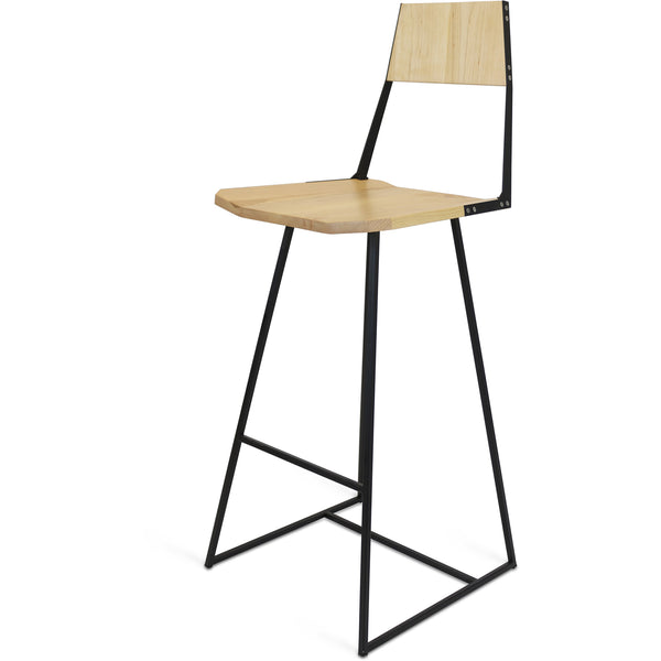 Clarkester Bar Stool - Maple