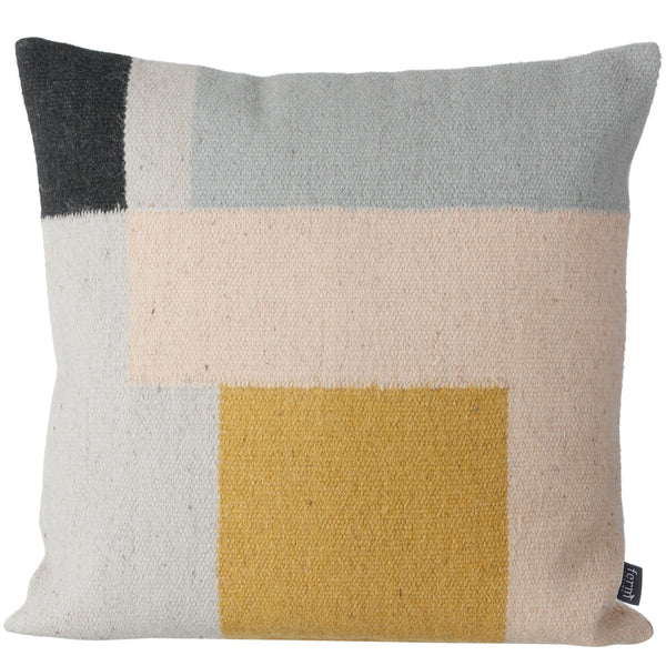 Kelim Squares Pillow - Wool & Cotton