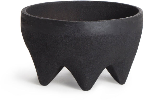 Cast Iron Footed Bowl