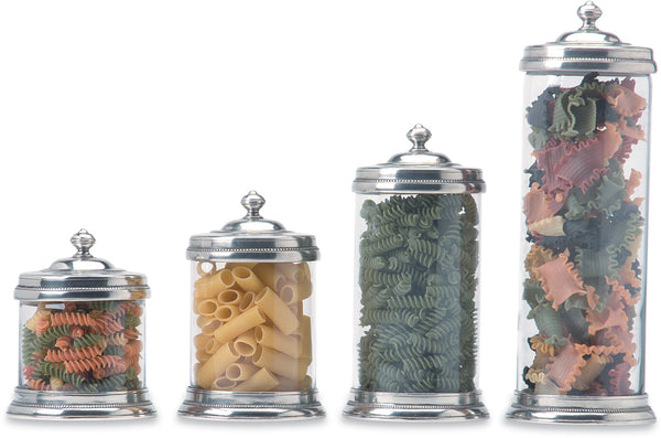 Glass Storage Canister with Lid