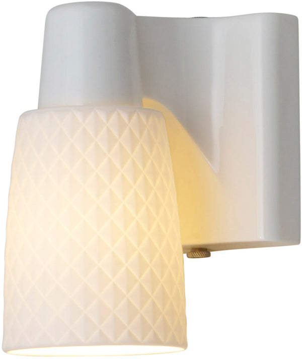 Oxford 1 Bone China Wall Light